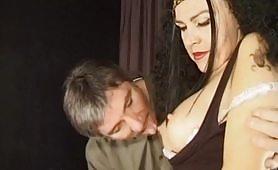 Le schiave del sesso - seconda scena con Irina e Domenico Baldi