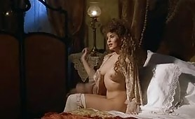 Eva Grimaldi la porno diva in D'Annunzio