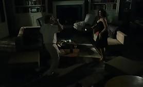Monica Bellucci con l'attore americano De Niro