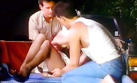 Cicciolina in orgia porno vintage