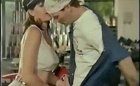 Scena porno vintage italiano con Eva Orlowsky