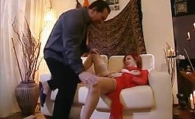 Silvia Melli soddisfatta da maschio cazzuto