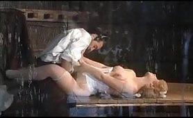 Scena porno vintage ripresa dal film Lady Chatterley Story