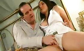 Scena porno italiano - Il padre infermo