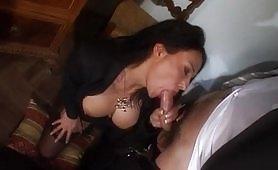 Letizia Bruni gode in calda scena porno di sesso anale