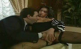 Solange in calda scena porno vintage italiano