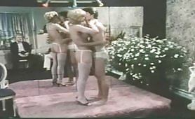 Una bella orgia porno vintage