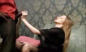 Una calda scena porno interraziale ripresa dal film Mafia Odio e Sesso
