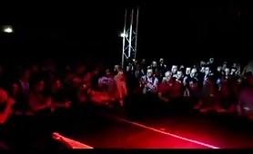 Alla fiera del sesso di Milano, solo per voi, ospite d`onore Vittoria Risi in live show bollente!