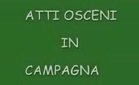 Atti osceni in campagna - Il video porno completo